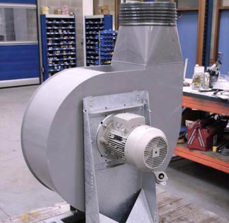 Fan for gas scrubber, PCA Air