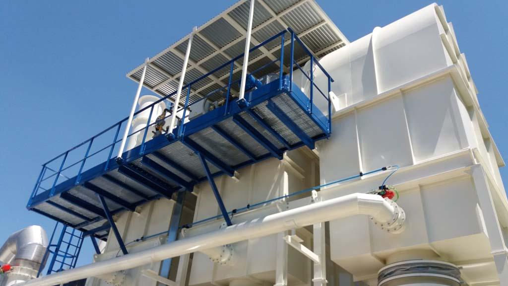 Regenerative thermal oxidizer, PCA Air