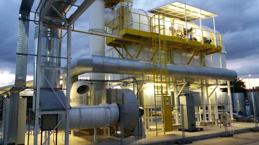 Regenerative thermal oxidation, PCA Air