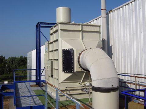 Horizontale gaswasser