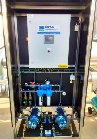 Control box for spraying system, PCA Air